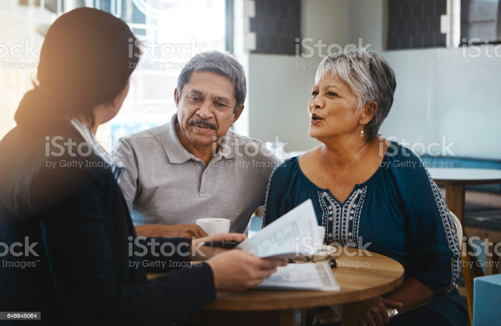 Taking a look at our financial options stock photo
