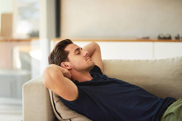 Taking a nap stok fotoğrafı