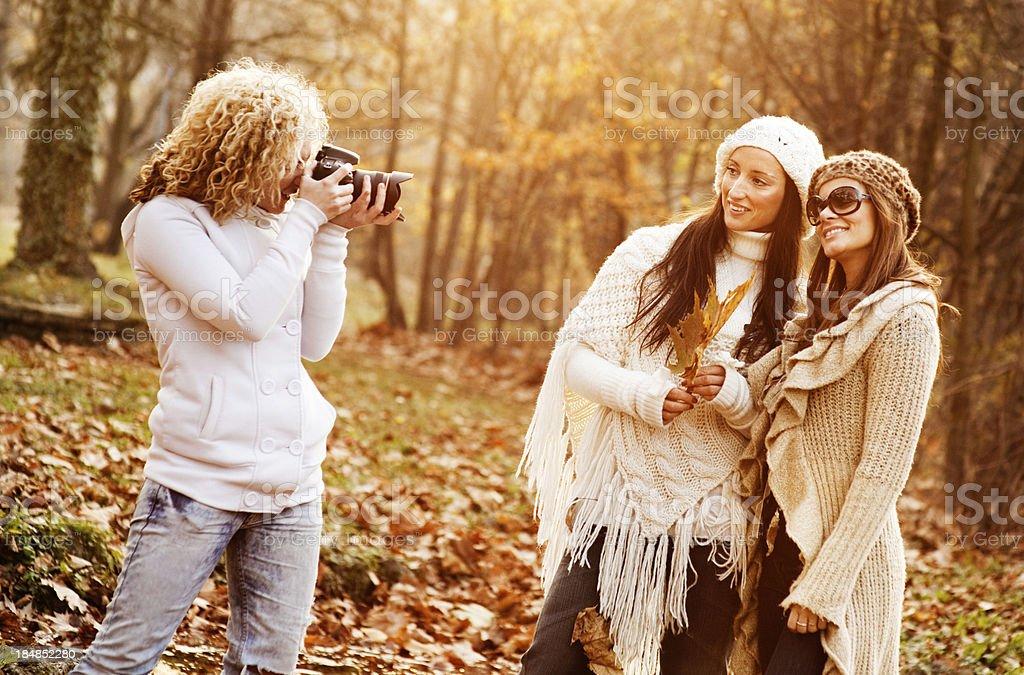 Taking A Photo royalty-free stock photo
