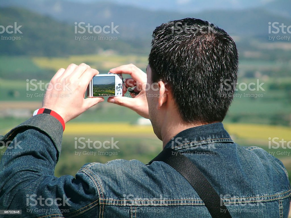 taking a picture royalty-free stock photo