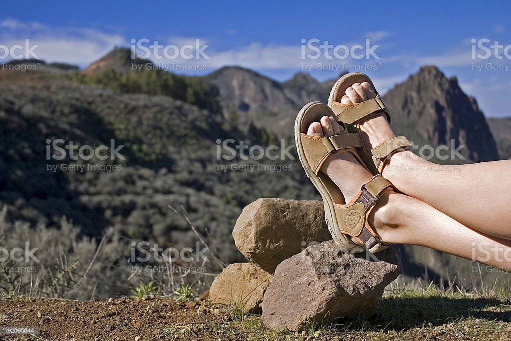 taking a rest 2 royalty-free stock photo