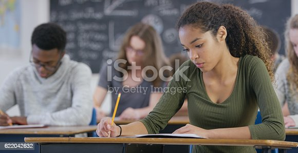 istock Taking a Test 622042632