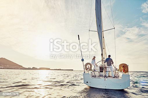 istock Taking an adventurous boat cruise 529667578