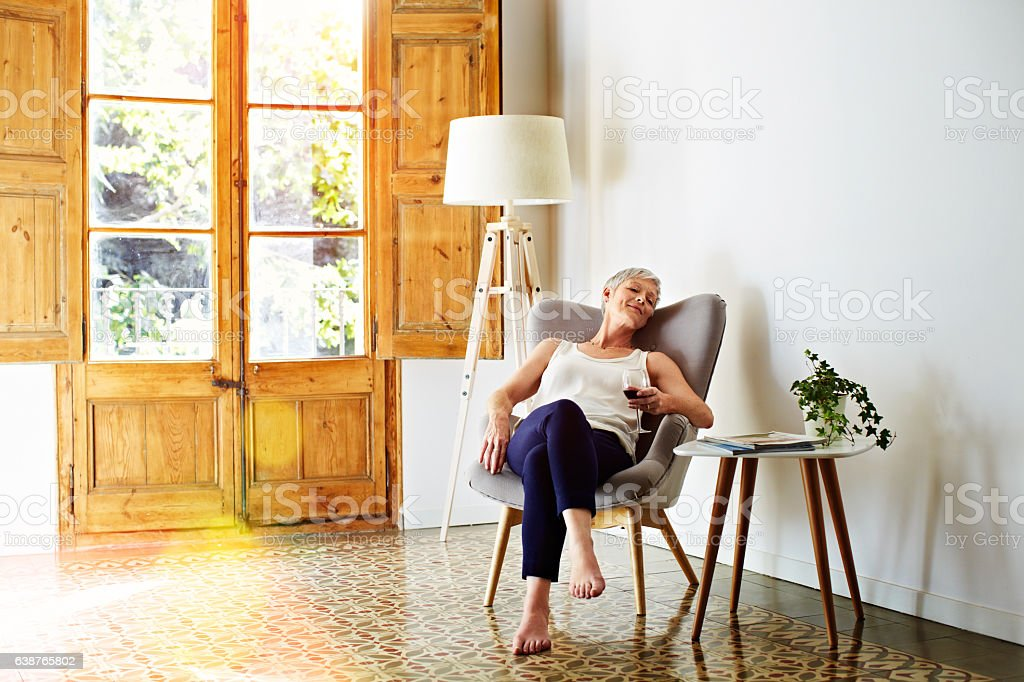 Taking an nice easy day stock photo