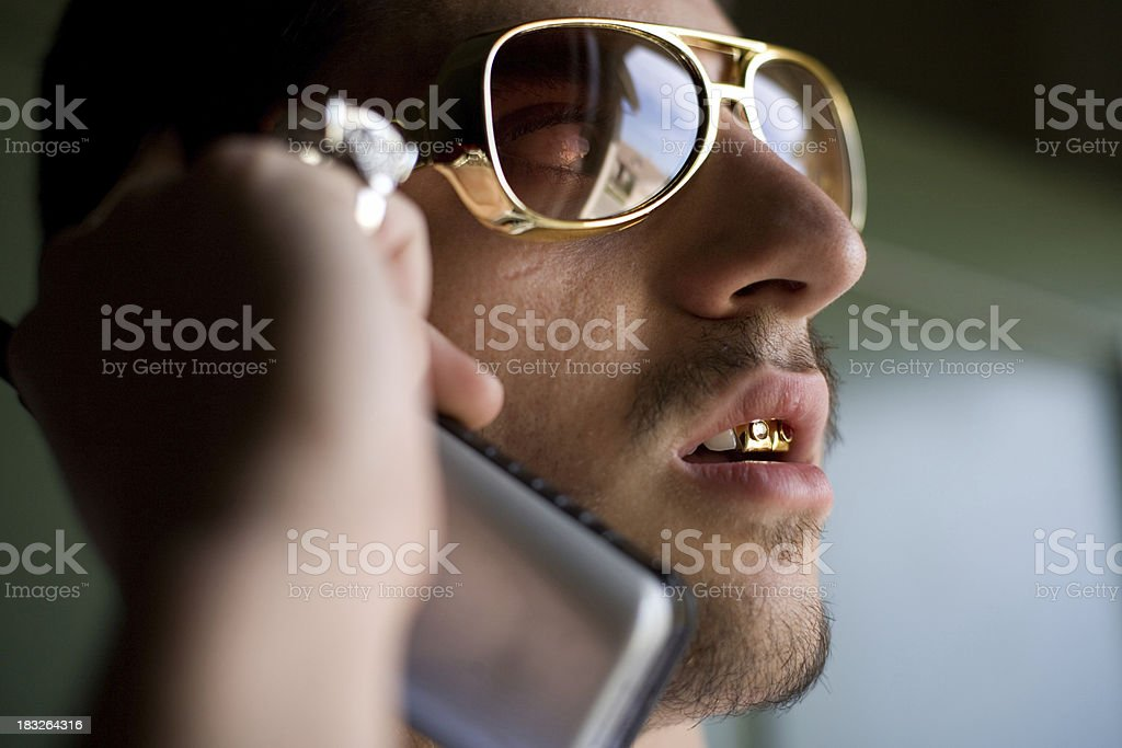 Taking care of business stock photo