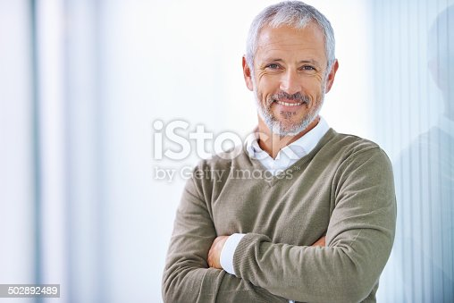 istock Taking care of business with a smile 502892489
