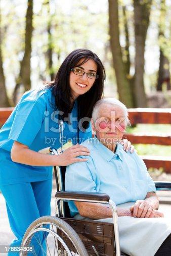 932074762istockphoto Taking Care of Elder People 178834808