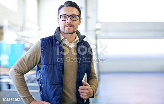 istock Taking care of warehouse business 623384462