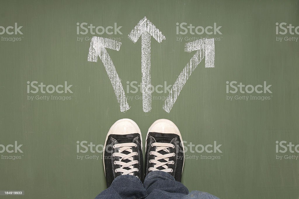 Taking decisions royalty-free stock photo