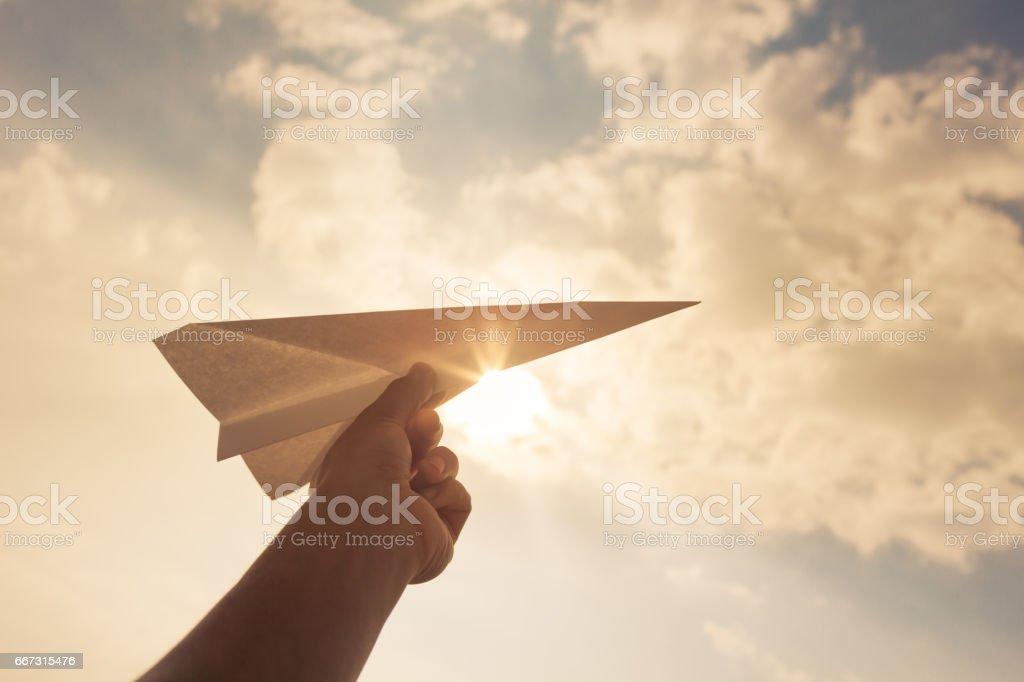 ¡Tomar vuelo! - foto de stock