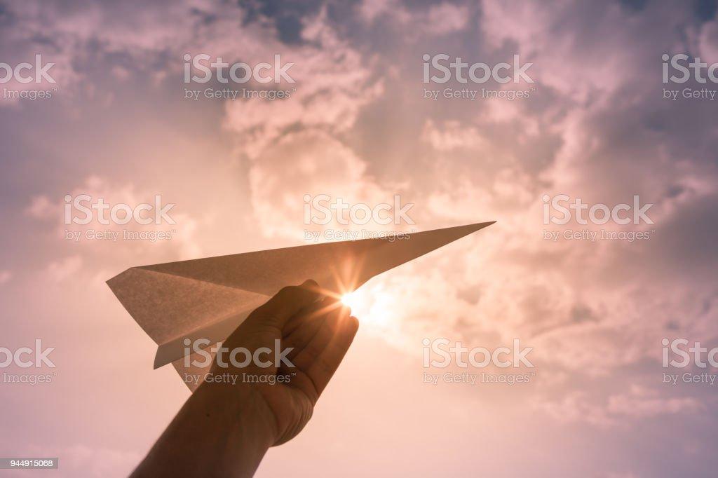 Taking flight! stock photo