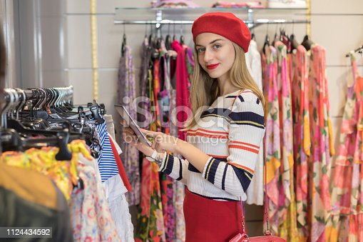 Taking her boutique into the online market place