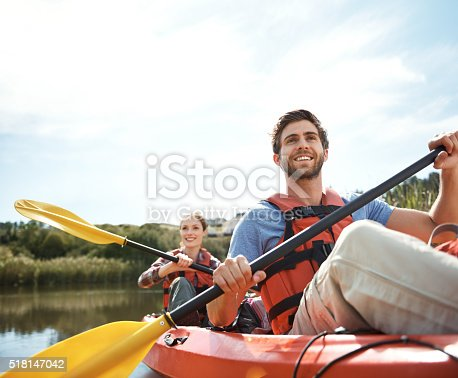 istock Taking in the view from the river 518147042