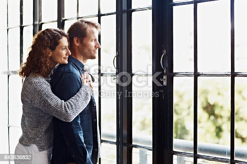 istock Taking in the view together 643636832