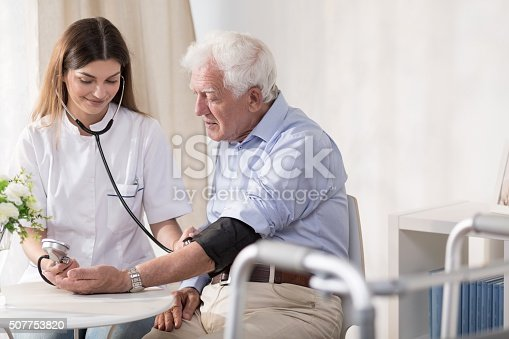 istock Taking man's blood 507753820