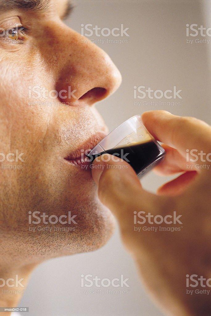 약을 복용하다 royalty-free 스톡 사진