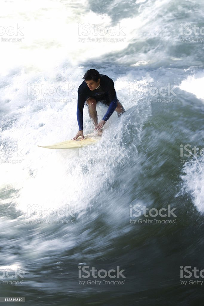Taking OFF royalty-free stock photo