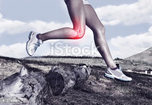 istock Taking on the trail one knee at a time 512749661
