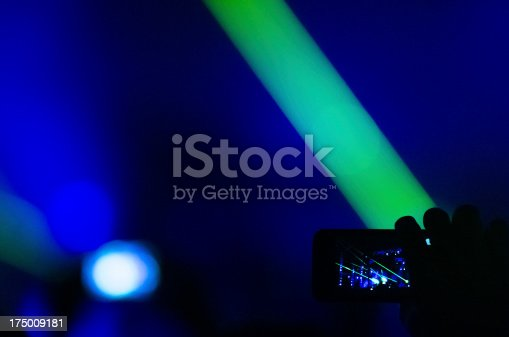 833314292 istock photo Taking photo at concert 175009181