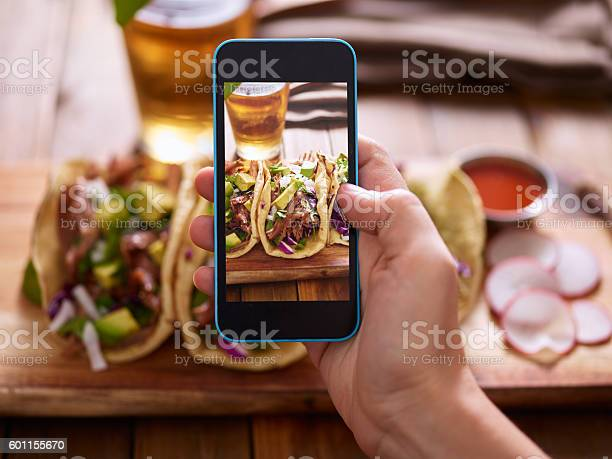 Taking photo of street tacos with smartphone picture id601155670?b=1&k=6&m=601155670&s=612x612&h=ywy0kmfe ihmat4vq1g0ahg5dzzszxqjdxdltcoh180=
