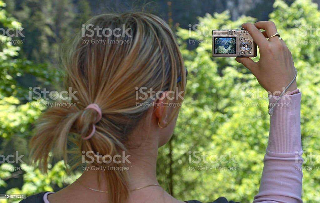 Taking Photo royalty-free stock photo