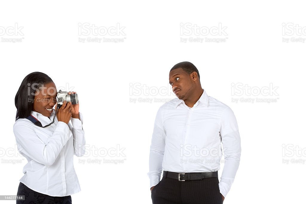 Taking pictures royalty-free stock photo