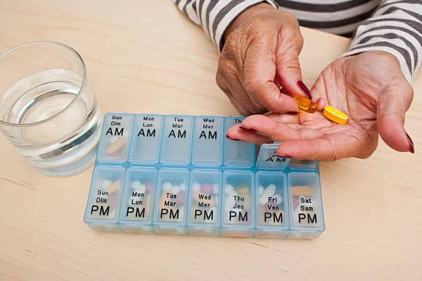 Tabletten schlucken – Foto