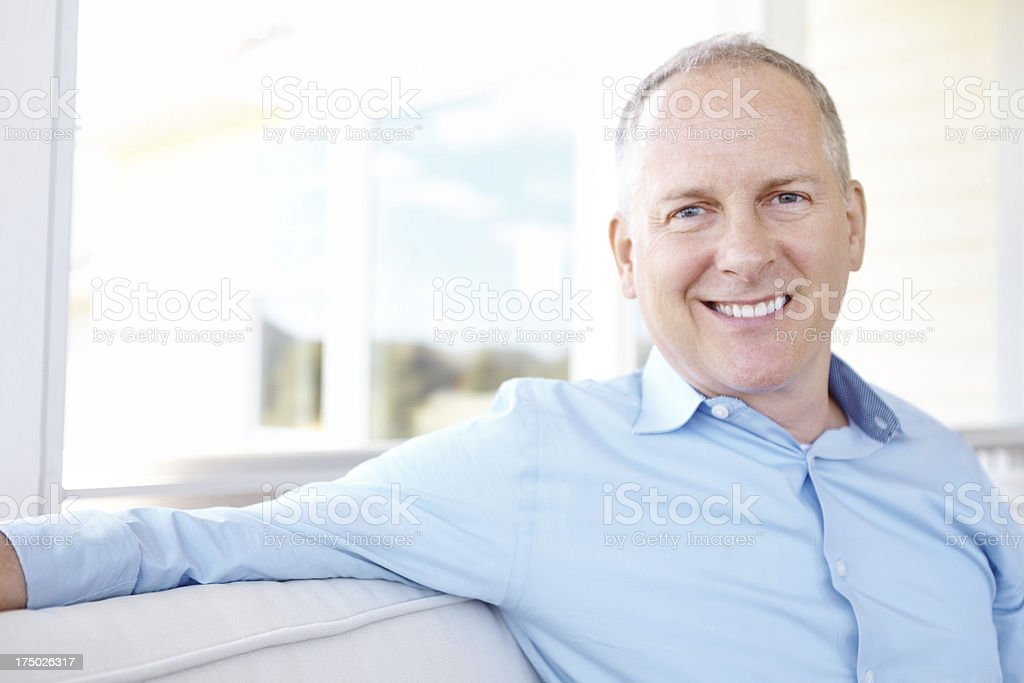 Taking retirement was the best decision for me! stock photo