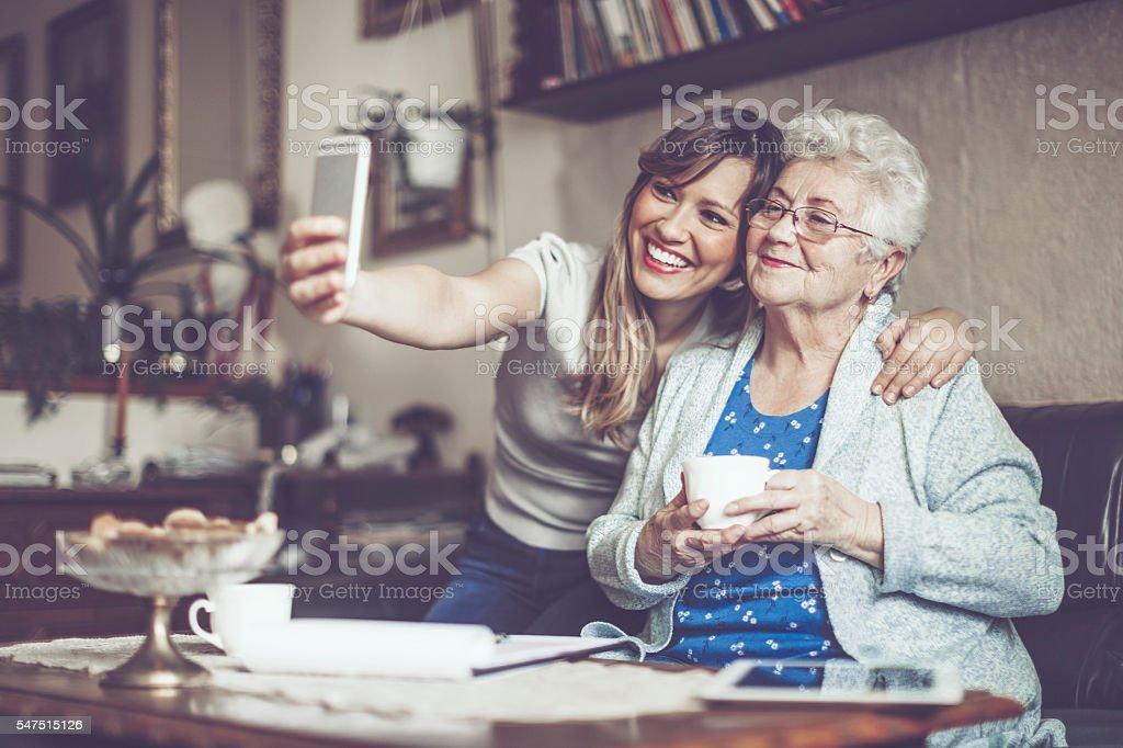 Tomar los selfies