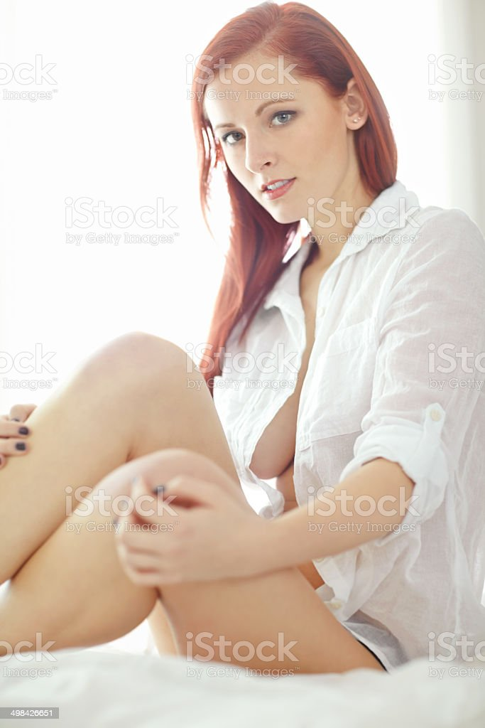 Taking sexiness to the next level royalty-free stock photo