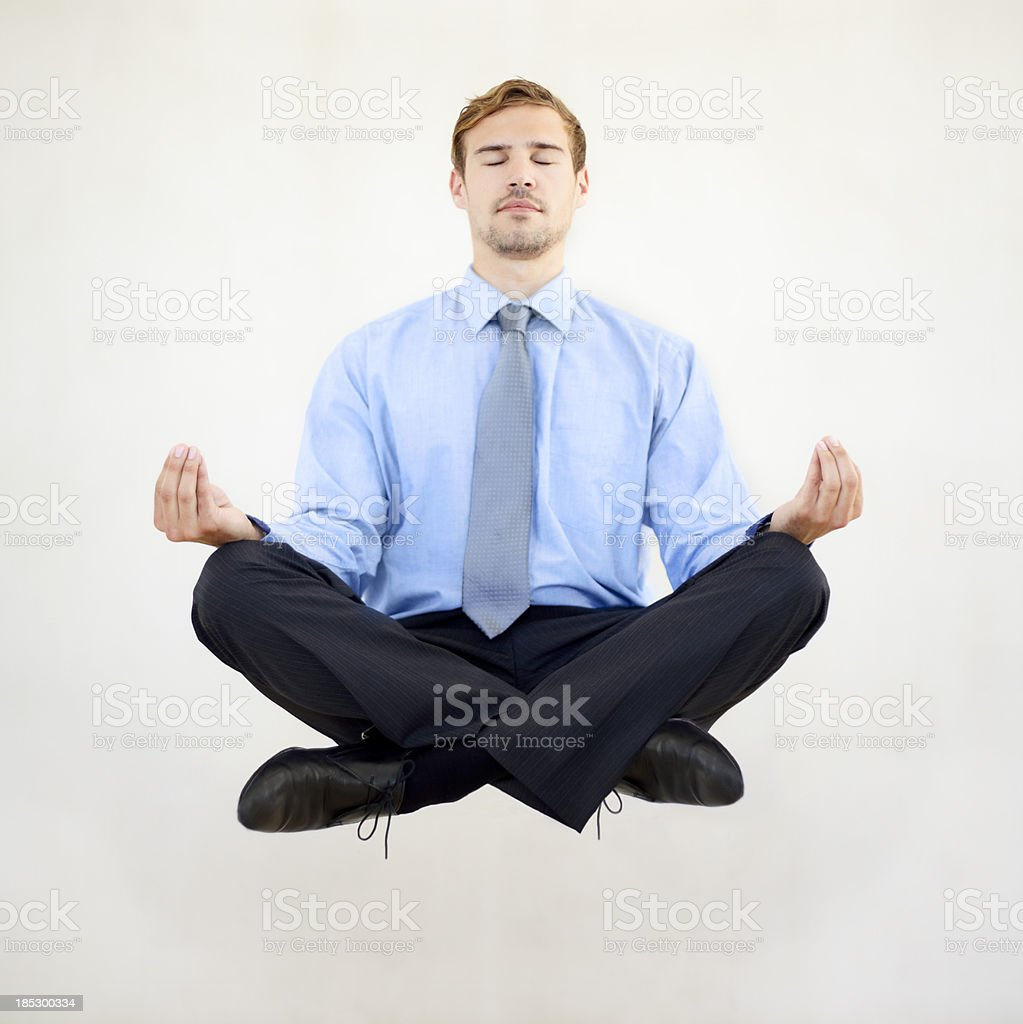 Taking some time out from business stock photo