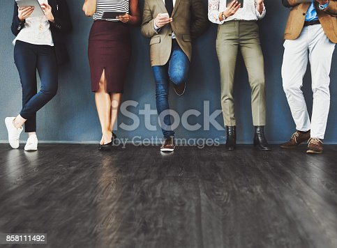 istock Taking the step towards success 858111492