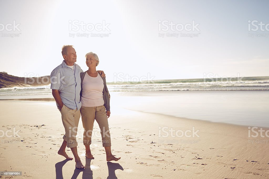 Taking the time to just be with one another stock photo
