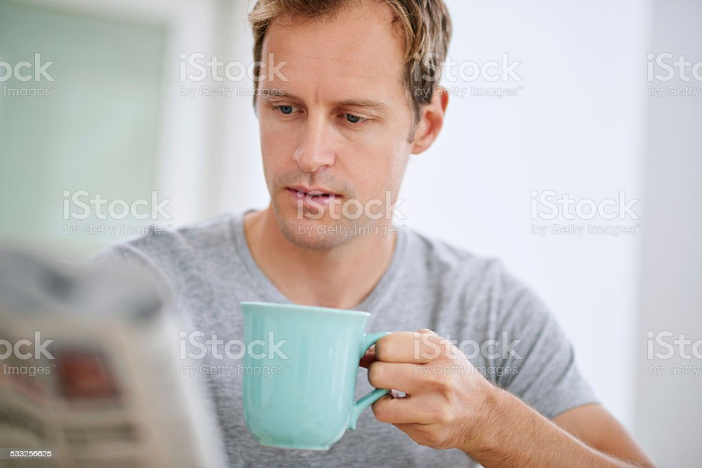 Taking things easy stock photo
