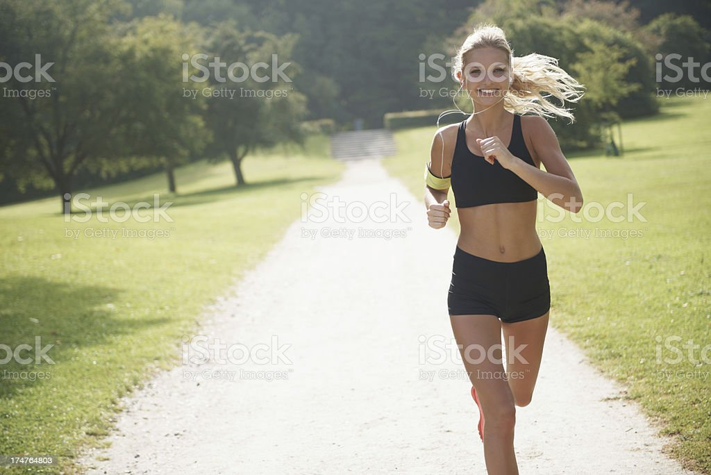 Taking time to keep healthy royalty-free stock photo