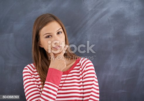 istock Taking time to think the problem through 504368263