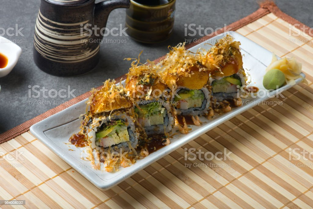 takoyaki sushi roll - Royalty-free Asia Stock Photo