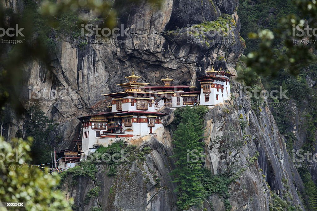 Taktsang - Tiger's nest stock photo