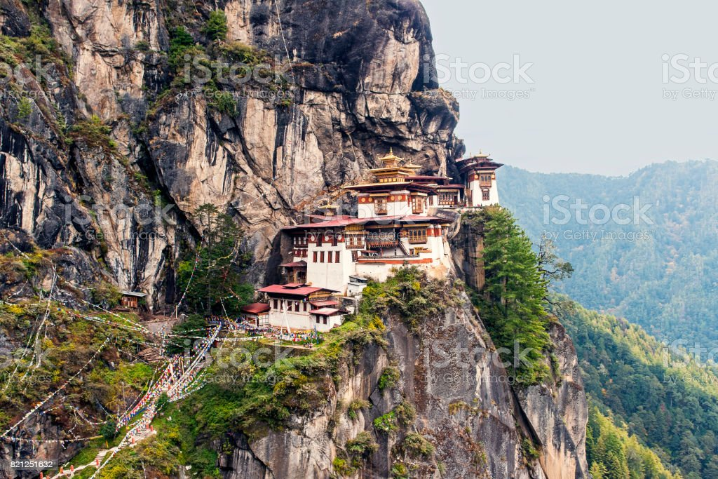 Taktshang Goemba - Tiger's Nest Monastery stock photo