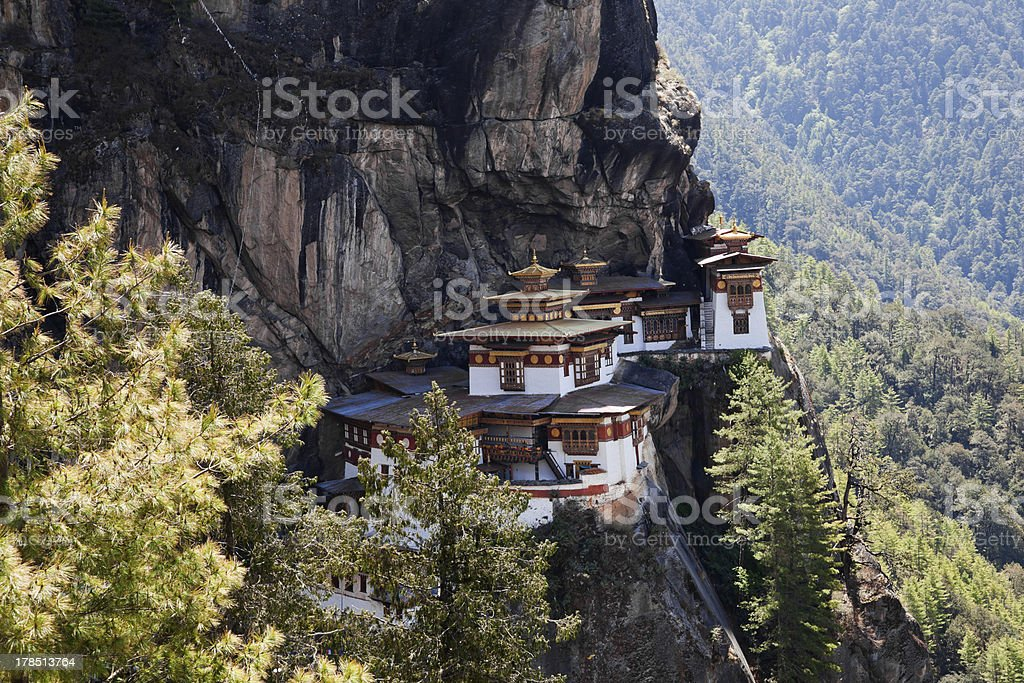 taktshang monastery royalty-free stock photo