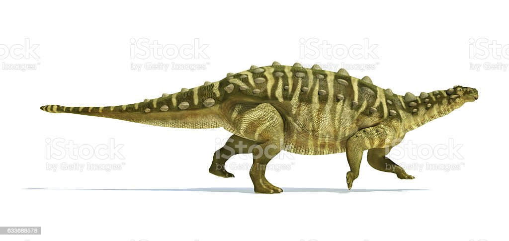 Talarurus dinosaur, photorealistic and scientifically correct re - foto de stock