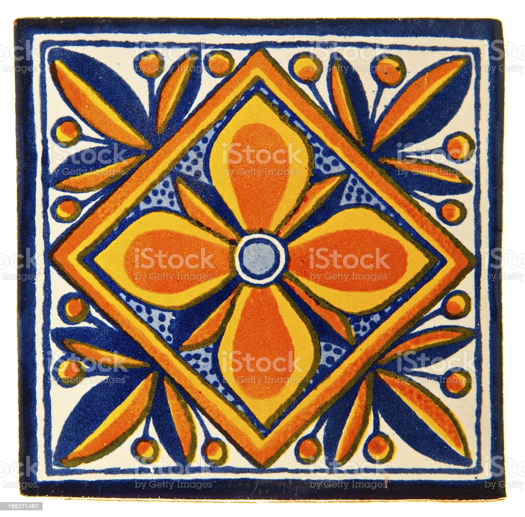 Handcrafted, hand-painted Mexican Ceramic Tile. Mexican tiles are...