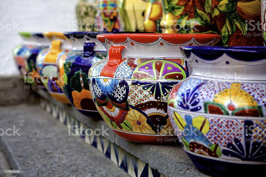 Talavera in Puebla stock photo