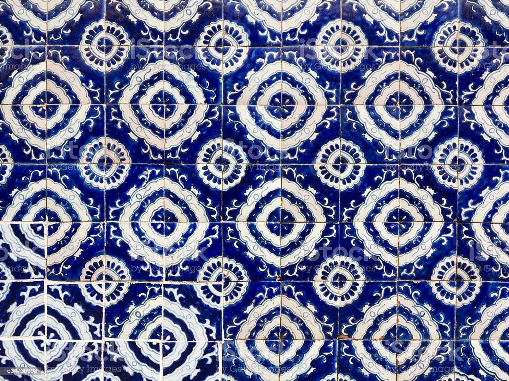 Talavera Tiles, Mexico stock photo
