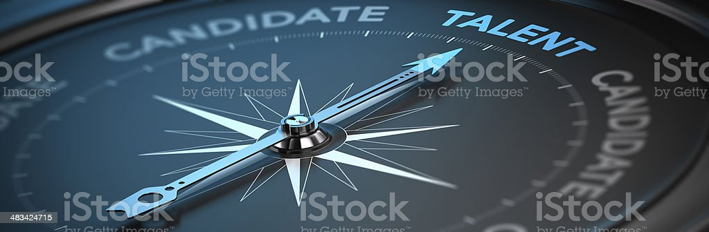 Talent Acquisition - Recruitment Concept stock photo