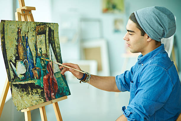 royalty free hipster painter pictures images and stock photos istock