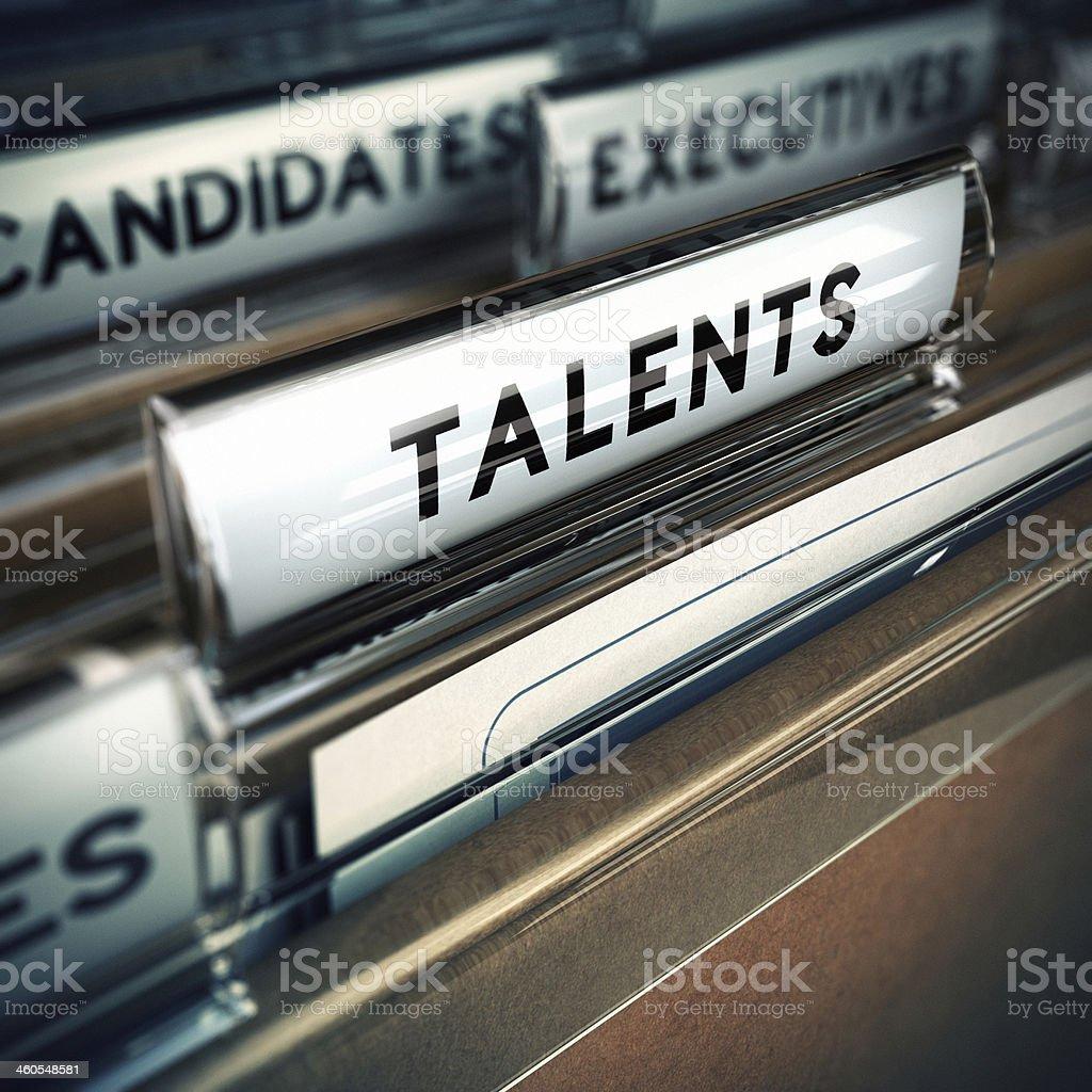Talente Einstellung Konzept – Foto