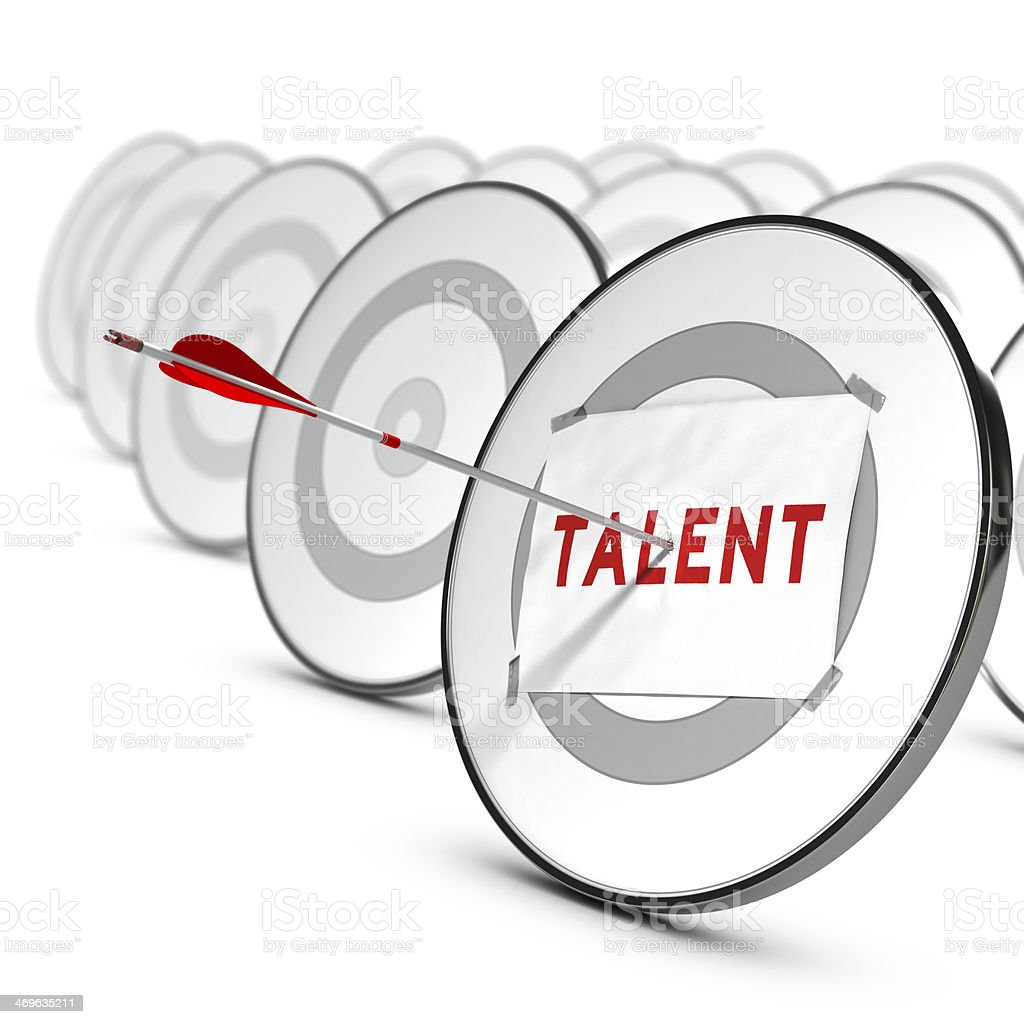 Talents Recruitment Concept stock photo