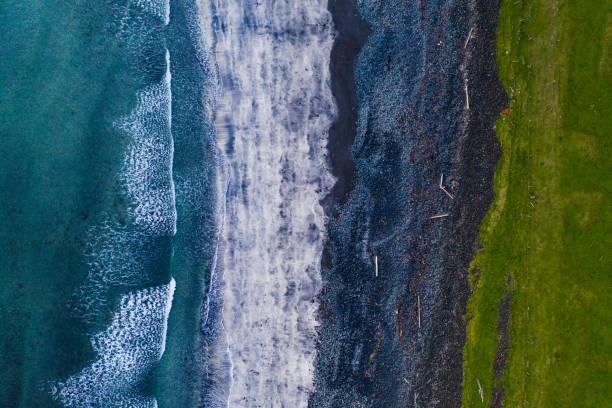 Talisker Bay Beach stock photo