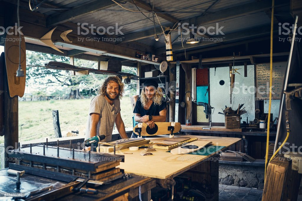 Talk about a dream job stock photo
